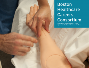 Cover of Boston Healthcare Careers Consortium Profile of the Current Educational & Training Opportunities for Boston's Healthcare Workforce